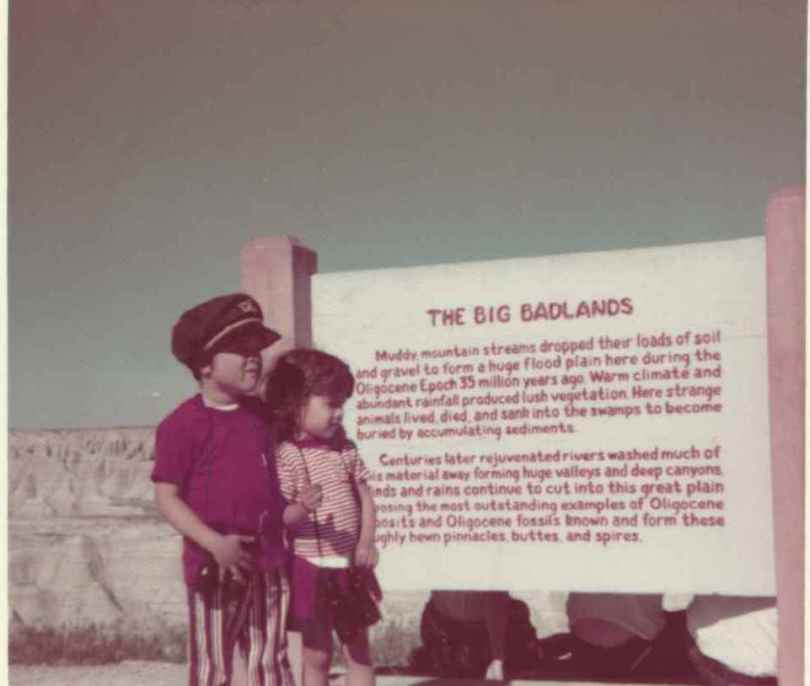 Big Badlands National Park, South Dakota