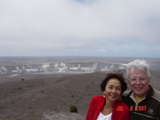 Big Island, Volcanoes National Park, Caldera