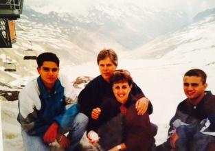 Family photo, Alto Adige: Val Senales, Italia