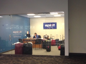 Spirit Airlines lost baggage