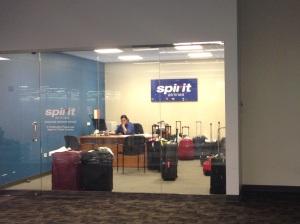 Spirit Airlines lost baggage