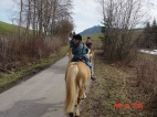 Horseback riding in Germany