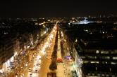 The Avenue des Champs-Élysées