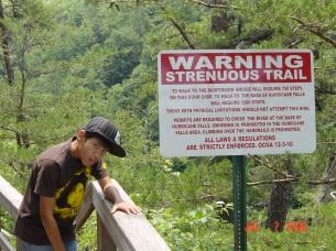 No kidding?! (Tallulah Gorge, 2006)