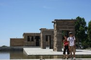 Templo de Debod, Madrid, Spain