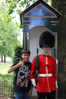 Royal Guard, Buckingham Palace, London, England