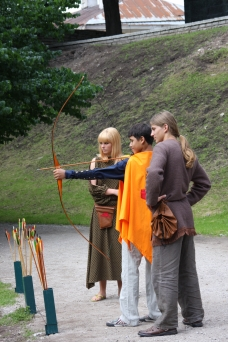 Archery, Tallin, Estonia