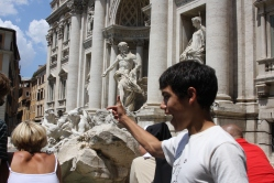 Trevi Fountain, Rome, Italy