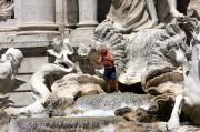 Fontana Trevi, Roma, Italia