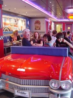 Cadillac Diner, NCL, Pride of America, Norwegian Cruise Lines