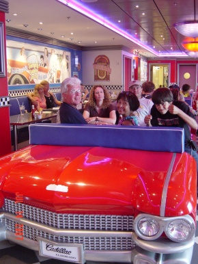 Cadillac Diner, NCL, Pride of America, Norwegian Cruise Lines