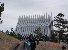 Air Force Academy Chapel, Colorado Springs, Colorado