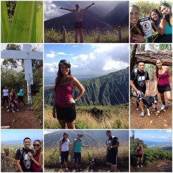 Hiking Waihe'e Ridge Trail, Wailuku, HI
