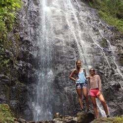 Hamama Falls, Kaneohe, Hawaii