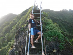 The Haʻikū Stairs, the Stairway to Heaven, Haʻikū Ladder