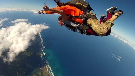 Skydive Hawaii, Oahu, Hawaii