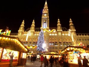 Vienna, Austria at Christmas