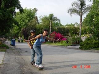 Skateboarding, Grandma Tarzana, California