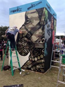 Art at Fun Fun Fun Fest, Austin, Texas