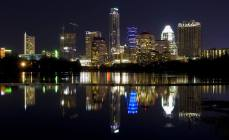 Night time in Austin