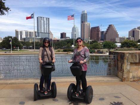 Segway tour, Austin, Texas