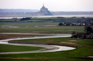 Le Mont St. Michel, Normandy