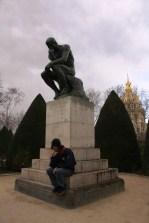 Thinkers at Musée Rodin Paris