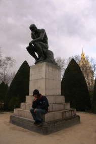 Thinkers at Musée Rodin Paris