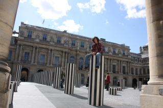 Palais Royal Columns, Paris