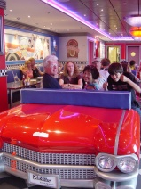 NCL Pride of America's Cadillac Diner