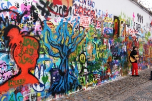 John Lennon Wall, Prague