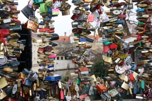 Love Locks Bridge, Mala Strana, Prague