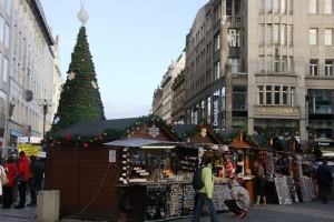 Wenceslas Square Christmas Market, Prague