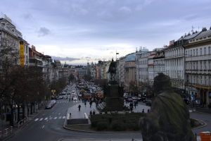 Wenceslas Square, Prague