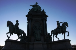 Maria Theresien Platz of Vienna
