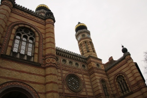 The Dohány Street Synagogue (The Great Synagogue or Tabakgasse Synagogue)