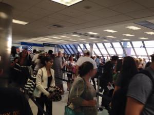 FLL TSA Security Line