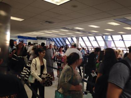 FLL TSA Security Line