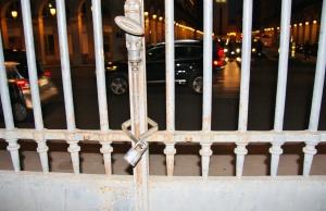 Locked in the Tuileries Garden