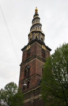 Church of Our Saviour (Vor Frelser Kirke), Christianshavn, Copenhagen, Denmark